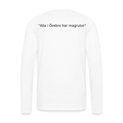 Ju jutsu kai förslag 2 version 1 svart text - Långärmad premium-T-shirt herr