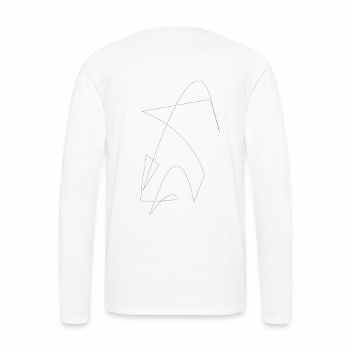 Saut de la Flèche - T-shirt manches longues Premium Homme