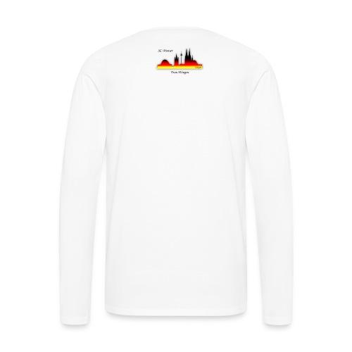 frau wingen - Männer Premium Langarmshirt