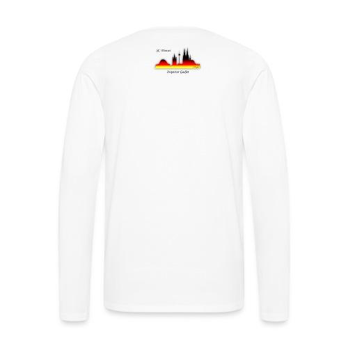 inspector gadjet - Männer Premium Langarmshirt