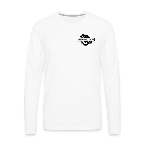 tshirt helveticvape 2 exp - T-shirt manches longues Premium Homme