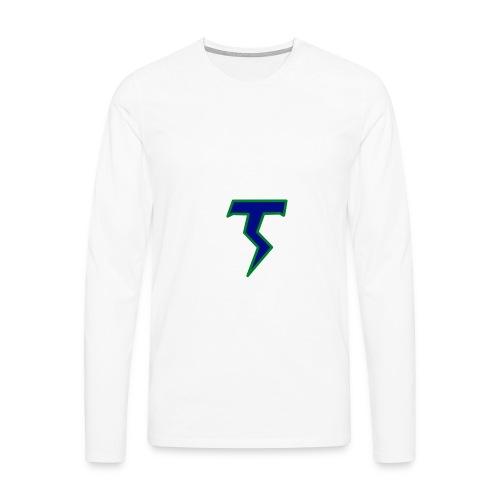 Thunder T png - Men's Premium Longsleeve Shirt