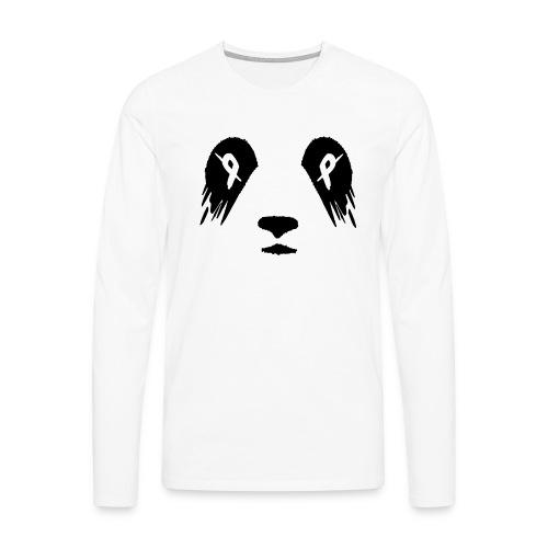 Panda Productions Logo - Men's Premium Longsleeve Shirt