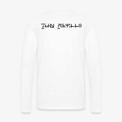 Fran Portillo (runas Alrlok) - Camiseta de manga larga premium hombre