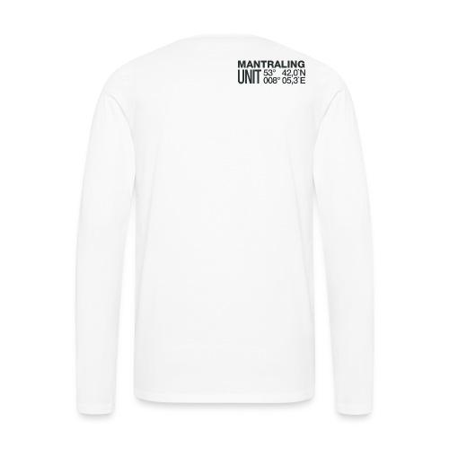 Mantrailing Aufkleber 6cm Dez2015 10 png - Männer Premium Langarmshirt