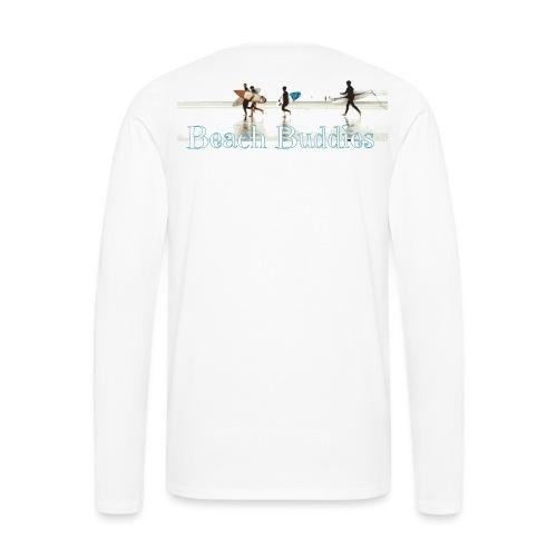 beach buddies - T-shirt manches longues Premium Homme