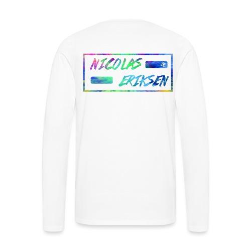 NE Premium - Premium langermet T-skjorte for menn