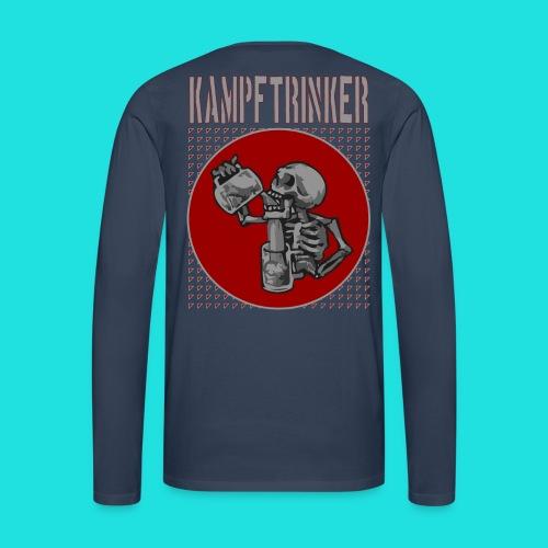 Kampftrinker - Männer Premium Langarmshirt