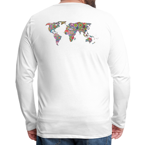 Hipsters' world - Men's Premium Longsleeve Shirt