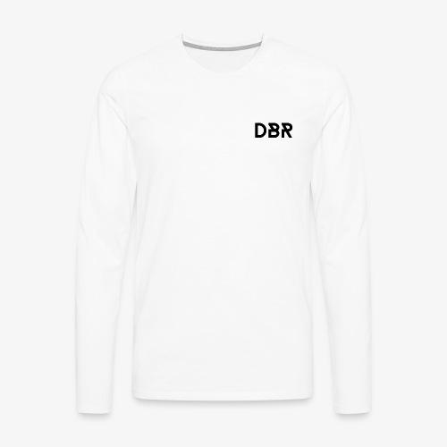 DBR Schriftzug png - Männer Premium Langarmshirt