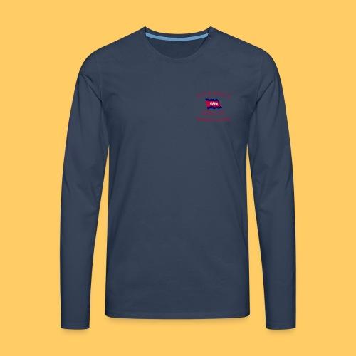 KiB Logo - Männer Premium Langarmshirt