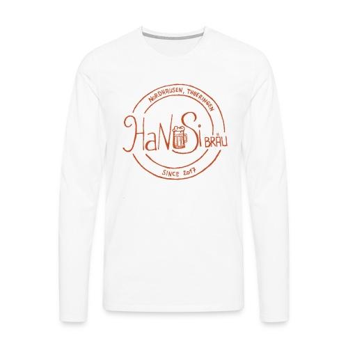 Hanusilogo - Männer Premium Langarmshirt