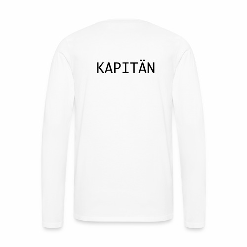 Kapitän - Männer Premium Langarmshirt