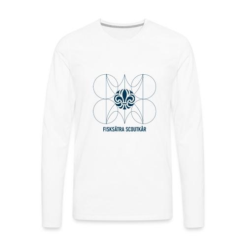 d - Långärmad premium-T-shirt herr