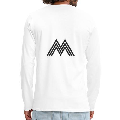 Merchandise With Deejay Michiel logo - Mannen Premium shirt met lange mouwen
