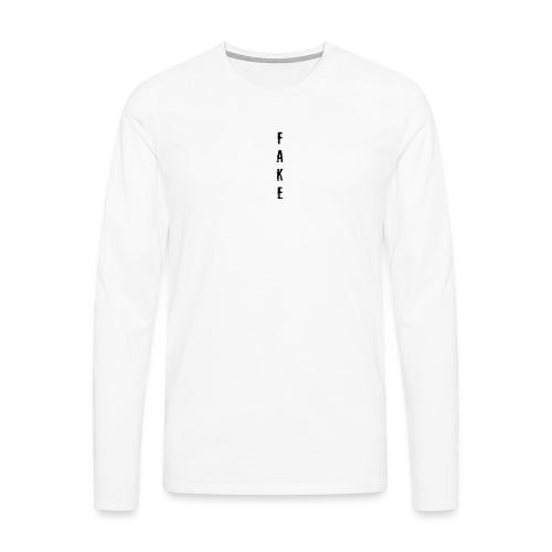 fake dreams24 png - Men's Premium Longsleeve Shirt