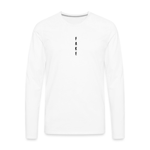 fake dreams24 png - Men's Premium Longsleeve Shirt