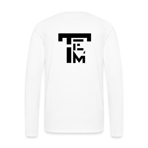 TEM BLACK - T-shirt manches longues Premium Homme
