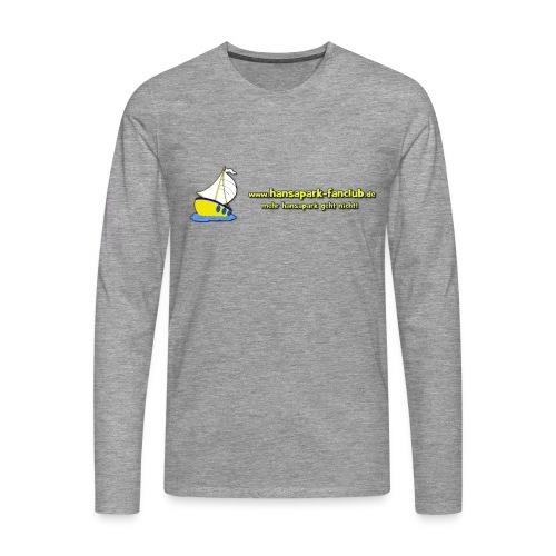 Logo Länglich png - Männer Premium Langarmshirt