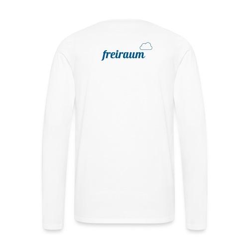 FREIRAUM-Yoga-Wear, damit macht Yoga einfach Spaß! - Männer Premium Langarmshirt