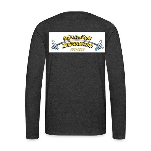 mouilleron muscu logo pour tee shirt 311 - T-shirt manches longues Premium Homme