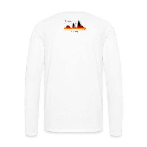 sNo Balls png - Männer Premium Langarmshirt