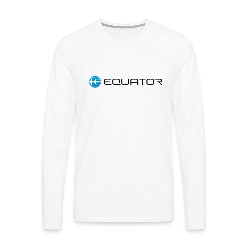 EQ LOGOTYPE notext - Men's Premium Longsleeve Shirt