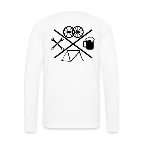 Cross Bike - Männer Premium Langarmshirt