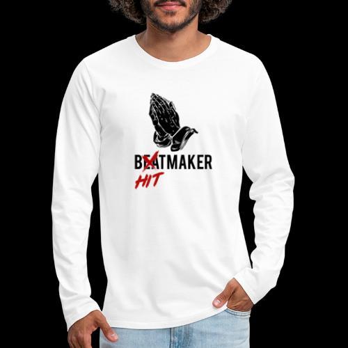 HitMaker Noir - T-shirt manches longues Premium Homme