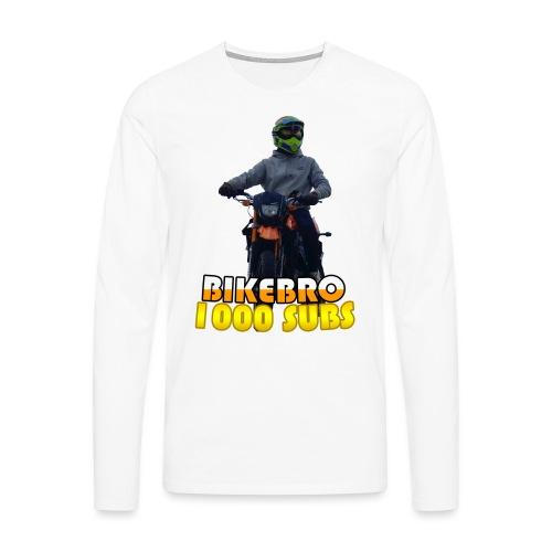 1000 Sub Special Design - Herre premium T-shirt med lange ærmer