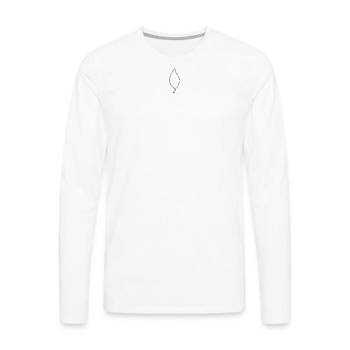 Honour - Mannen Premium shirt met lange mouwen