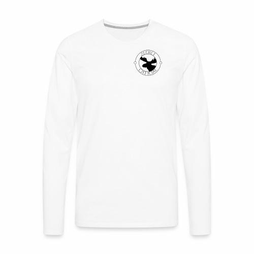 ZecretOfficial - Herre premium T-shirt med lange ærmer