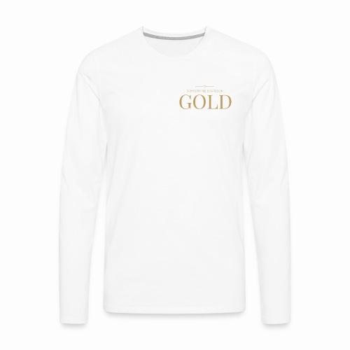Schtephinie Evardson: Ultra Premium Gold Edition - Men's Premium Longsleeve Shirt