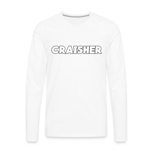craisher font png - Men's Premium Longsleeve Shirt