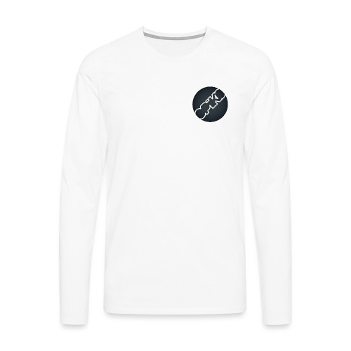 opiko Logo S/W - Männer Premium Langarmshirt