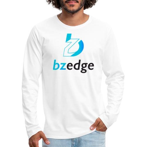 BZEdge Cutting Edge Crypto - Men's Premium Longsleeve Shirt