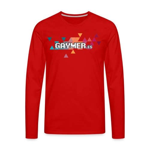 Logo Gaymer.es - Camiseta de manga larga premium hombre