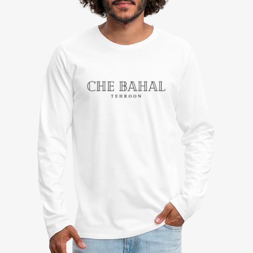 CHE BAHAL - Männer Premium Langarmshirt