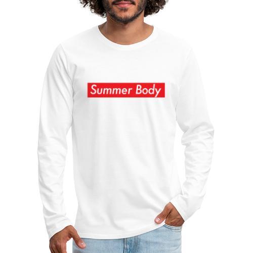 Summer Body - T-shirt manches longues Premium Homme