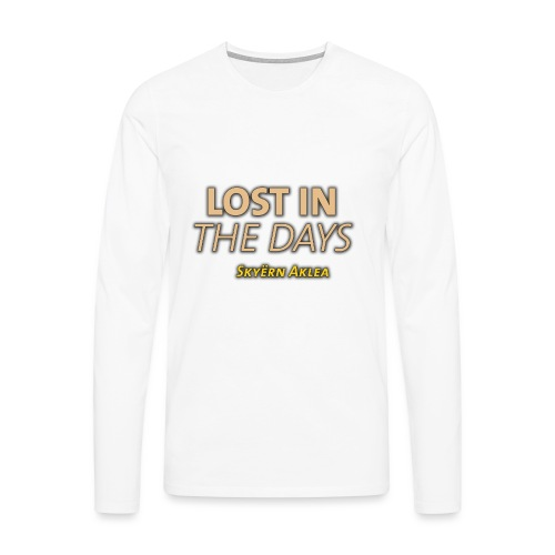 SKYERN AKLEA LOST IN THE DAYS - T-shirt manches longues Premium Homme