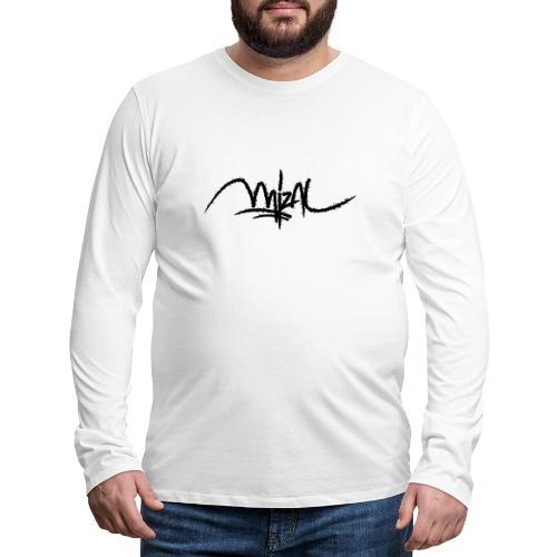 MizAl 2K18 - Koszulka męska Premium z długim rękawem