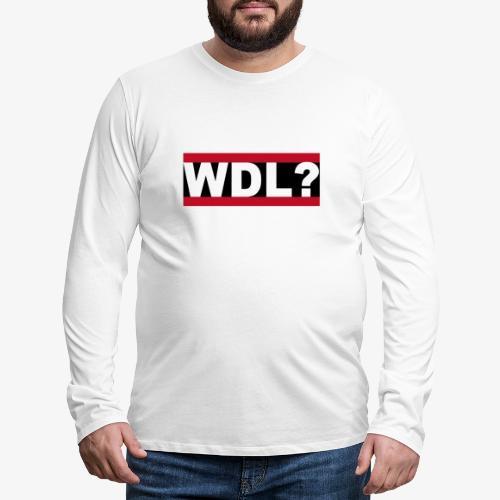 WDL-3 - Männer Premium Langarmshirt