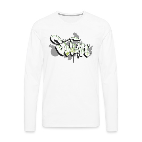 Graffiti Art 2wear Style - Herre premium T-shirt med lange ærmer