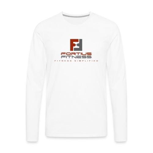 Fortius Fitness - Herre premium T-shirt med lange ærmer