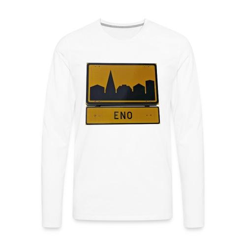 The Eno - Miesten premium pitkähihainen t-paita