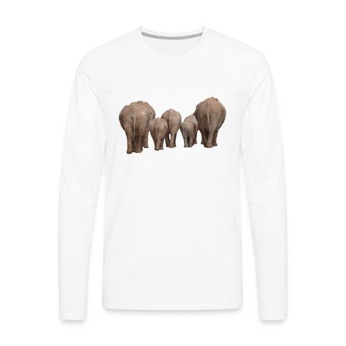 elephant 1049840 - Maglietta Premium a manica lunga da uomo