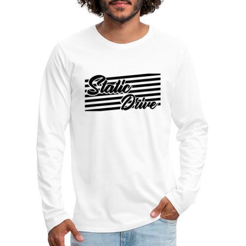 Static Drive - Männer Premium Langarmshirt