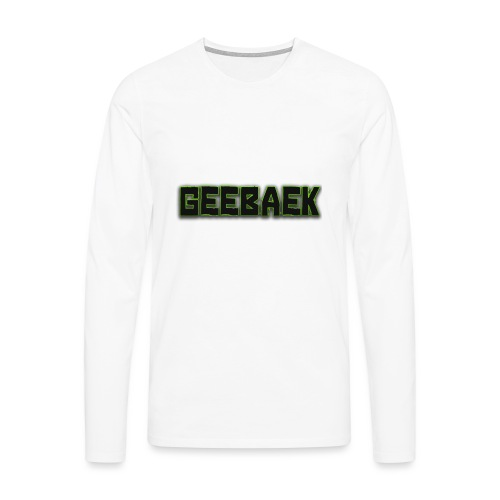 Geebaek - Herre premium T-shirt med lange ærmer