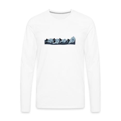 Broken - Camiseta de manga larga premium hombre