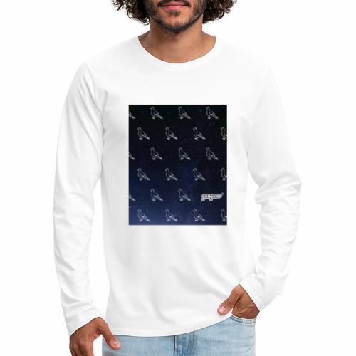 pigeonarmay in space - Männer Premium Langarmshirt